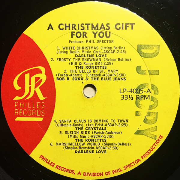 Darlene Love, The Ronettes, Bob B. Soxx a.o. A Christmas Gift For You From Philles Records