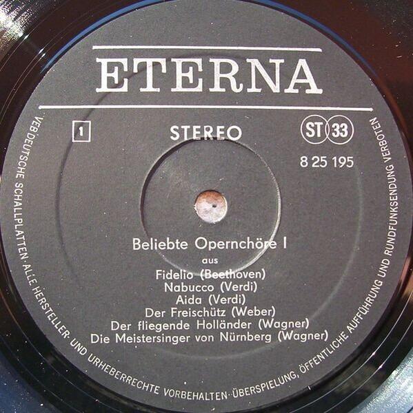 Verdi, Wagner, Bizet a.o. Beliebte Opernchöre I. Folge (BLACK LABEL)