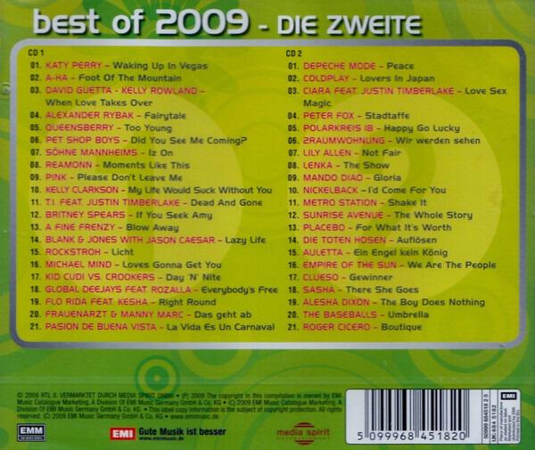 Katy Perry / A-ha a.o. Best Of 2009 - Die Zweite (STILL SEALED)