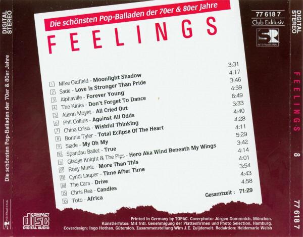 Mike Oldfield / Sade Feelings  8