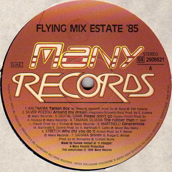 #<Artist:0x007f821d165688> - Flying Mix Estate '85