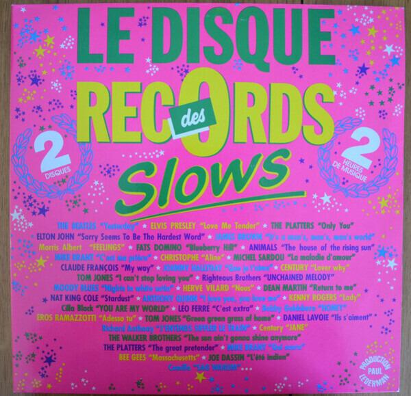 Elton John / Fats Domino / James Brown a.o. Le Disque des Records - Slowsv (GATEFOLD / DMM)