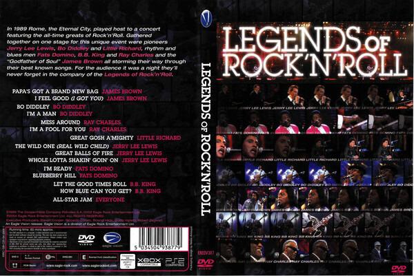 James Brown / B.B. King a.o. Legends of Rock´n´Roll