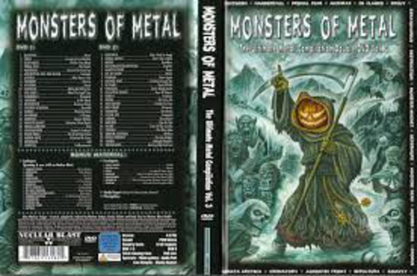 Nightwish / Hammerfall / Primal Fear a.o. Monsters Of Metal (The Ultimate Metal Compilation Vol. 3) (DIGIBOOK WITH SLIPCASE / STILL SEALED)