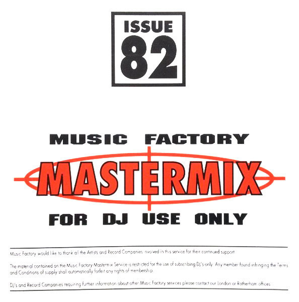 2 UNLIMITED, DANCE 2 TRANCE, ROBIN S., A.O. - Music Factory Mastermix - Issue 82 (PROMO) - CD