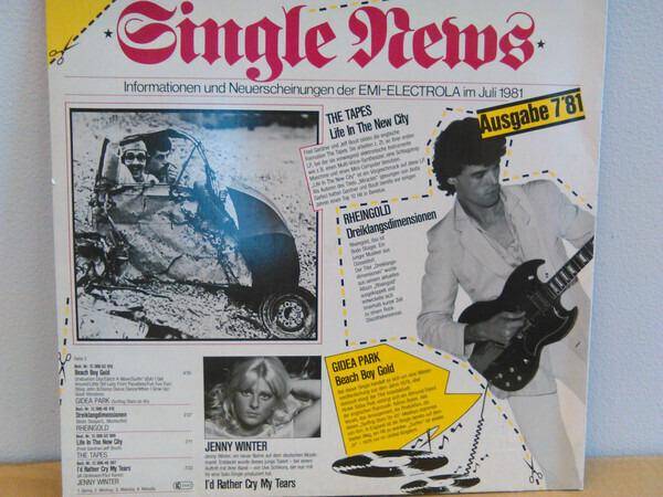 Kate Bush, Sheena Easton a.o. Musical Times Ausgabe 7'81