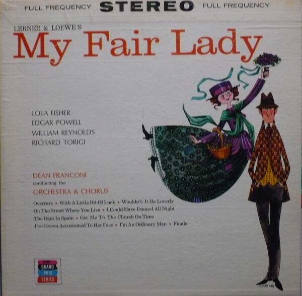 #<Artist:0x00007f89353226c8> - My fair lady