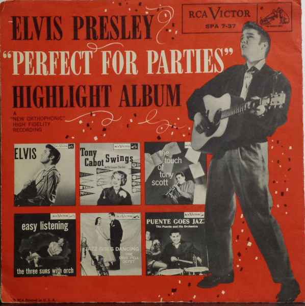 Elvis Presley, Tito Puente, Dave Pell  u.a. 'Perfect For Parties' Highlight Album (PROMO)