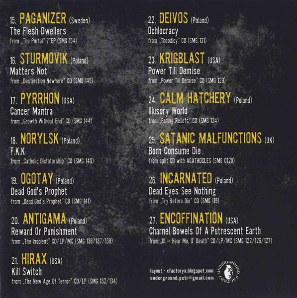 Agathocles, Dead Infection, a.o. Selfmadegod Records Sampler 2016