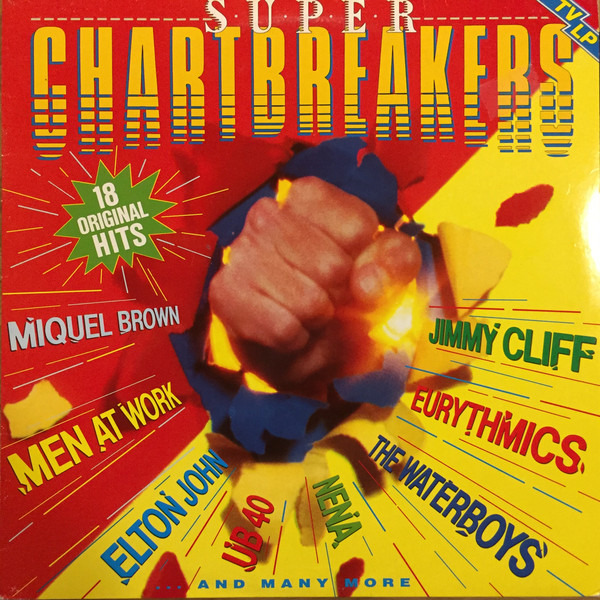 MIQUEL BROWN, MEN AT WORK, ELTON JOHN A.O. - Super Chartbreakers - LP