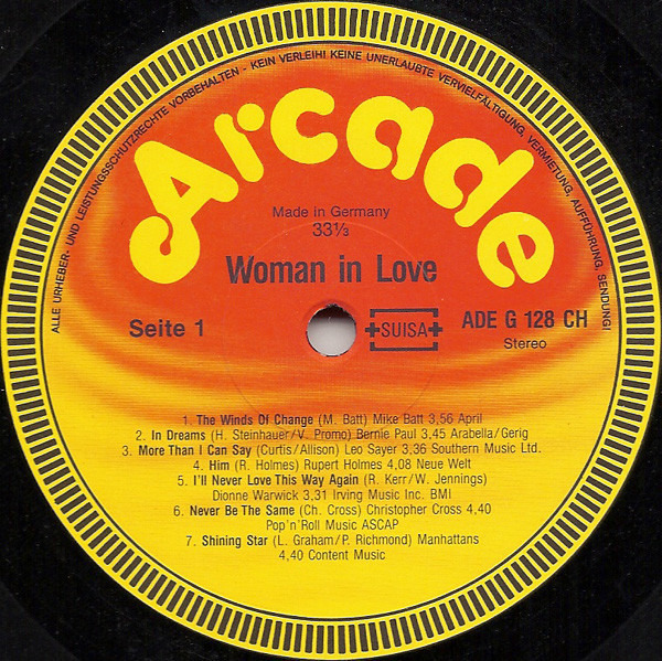 Christopher Cross, Fleetwood Mac, Elton John, Rod Woman In Love