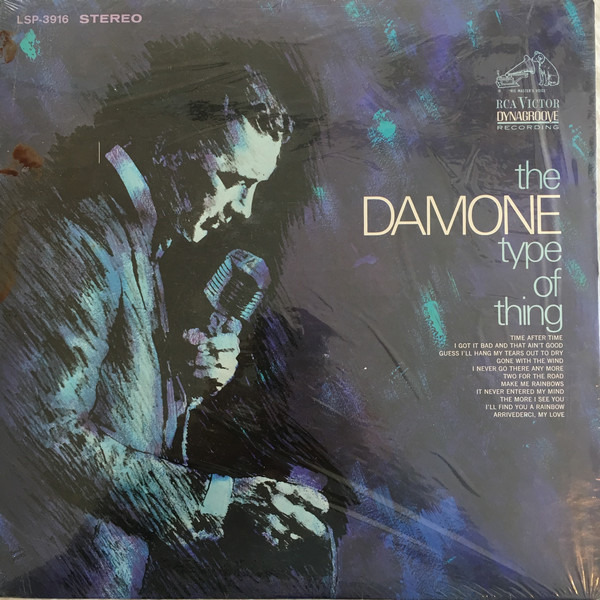 #<Artist:0x00007f810798f820> - The Damone Type of Thing