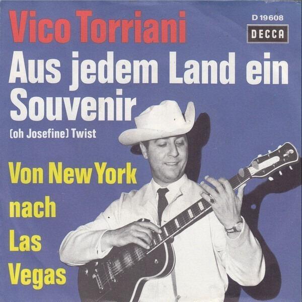 Vico Torriani Aus Jedem Land Ein Souvenir (Oh Josefine)