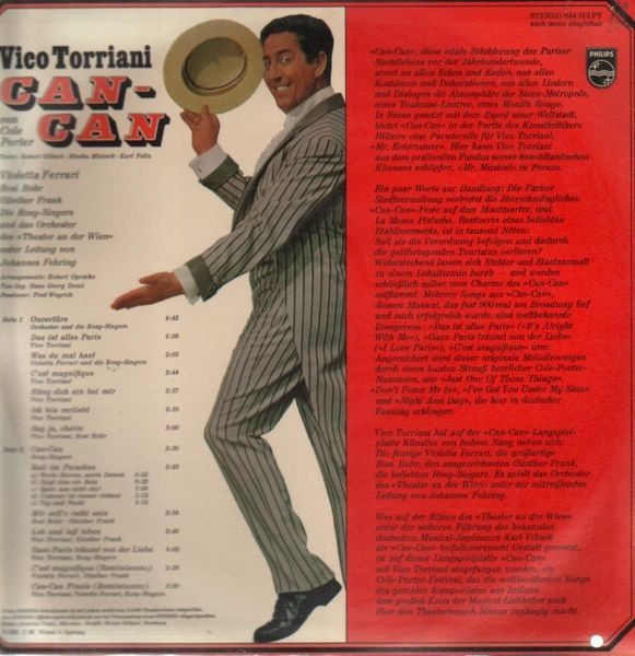 Vico Torriani, Cole Porter Can-Can