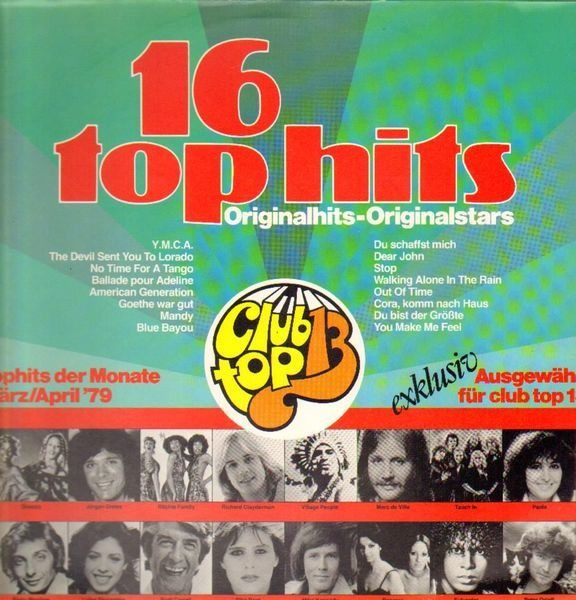 Village People, Baccara, Rudi Carrell 16 Top Hits - März/April '79