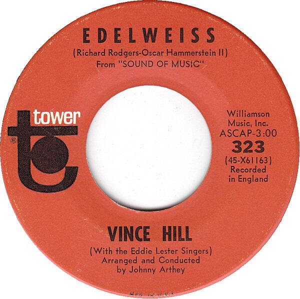 Vince Hill - Edelweiss Vinyl