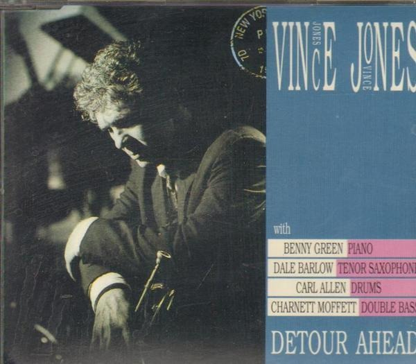 VINCE JONES - Detour Ahead - CD single