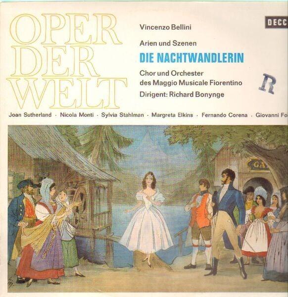 Vincenzo Bellini Die Nachtwandlerin, Richard Bonynge, Joan Sutherland