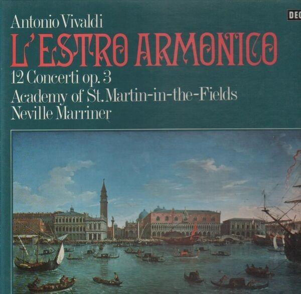 #<Artist:0x007f8b4253fa28> - L'Estro Armonico (Neville Marriner)