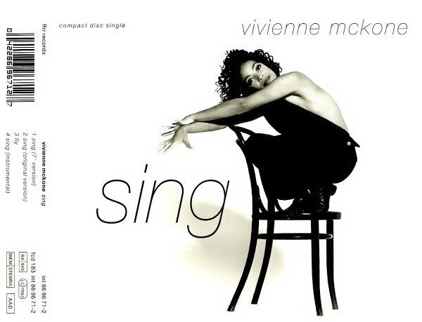 VIVIENNE MCKONE - Sing - CD single