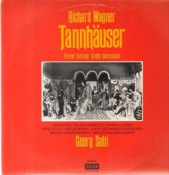 #<Artist:0x00007f4deac49c28> - Tannhäuser Pariser Fassung Grosser Querschnitt