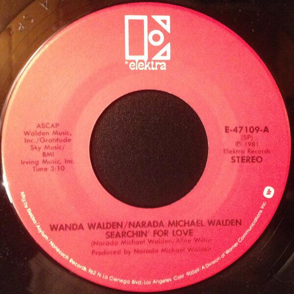 Wanda Walden , Narada Michael Walden Searchin' For Love