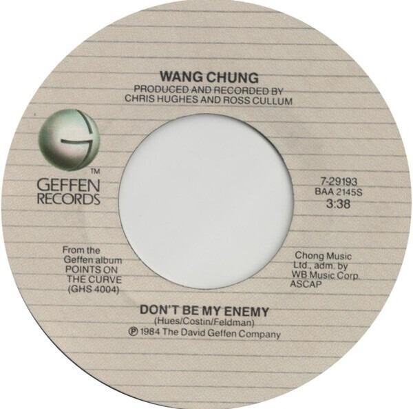 #<Artist:0x007fcf6e1f2d50> - Don't Be My Enemy
