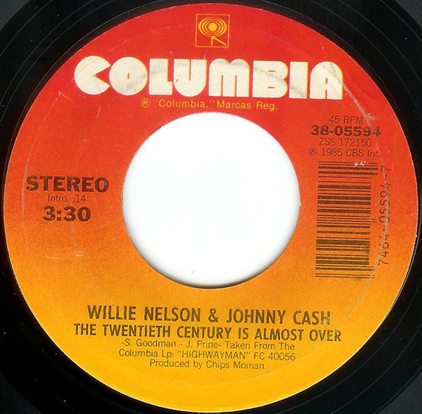 Desperados Waiting For A Train The Twentieth Century Is Almost Over By Waylon Jennings Willie Nelson Johnny Cash Kr 7inch X 1 With Recordsale Ref 3116460754