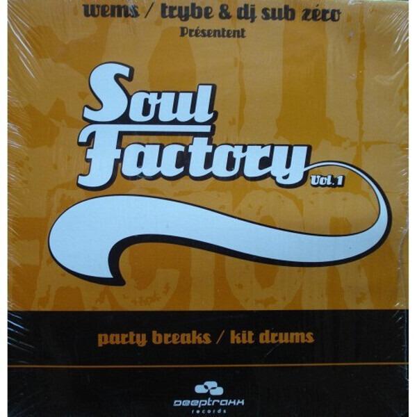 WEMS & DJ SUB ZERO - Soul Factory Vol.1 - 12 inch x 1