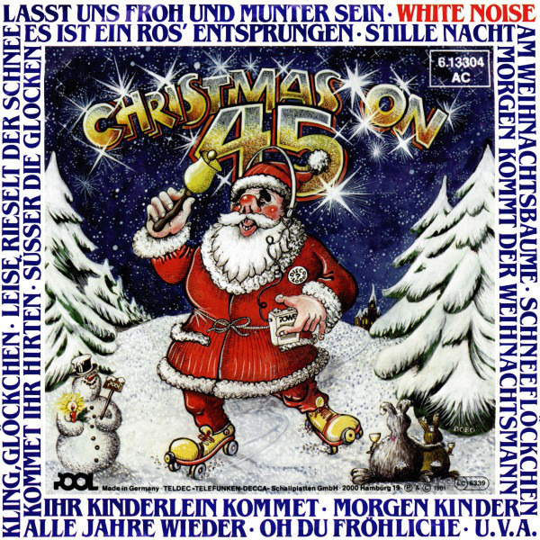 #<Artist:0x007f757bd9bfa0> - Christmas on 45