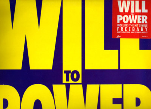 Resultado de imagen de Will to Power - Lp: 'Will to Power