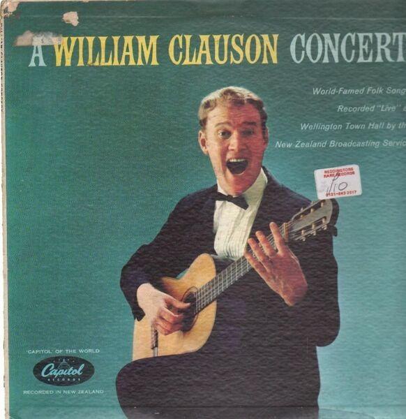 WILLIAM CLAUSON - a william clauson concert - LP