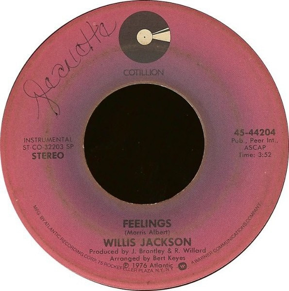 Willis Jackson Feelings