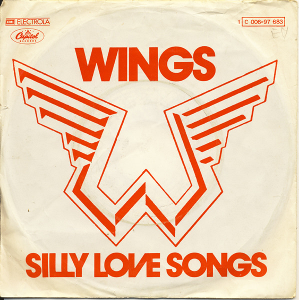 #<Artist:0x007fcd2a0f6500> - Silly Love Songs / Cook Of The House