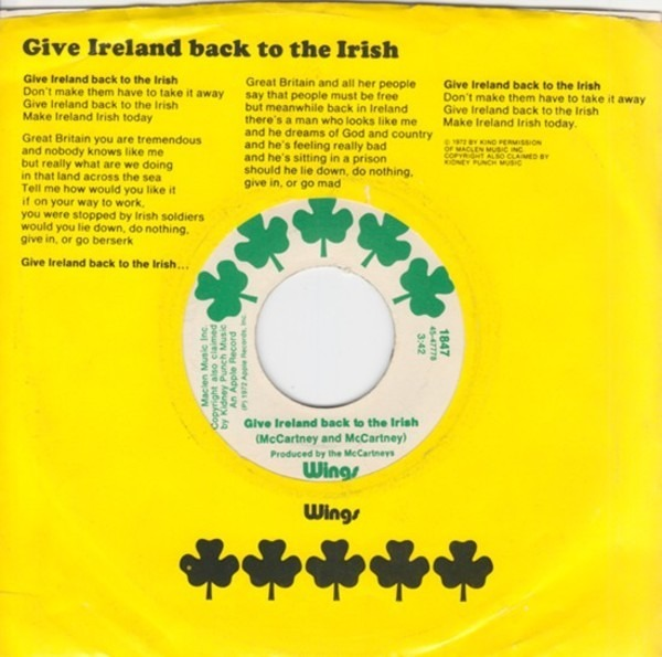 #<Artist:0x007fae1b948510> - Give Ireland Back To The Irish