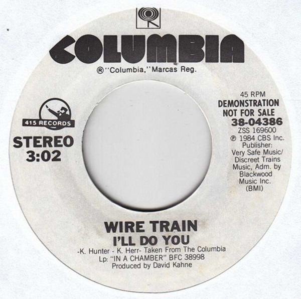 I\'ll Do You - Wire Train | 7\'\' | Recordsale