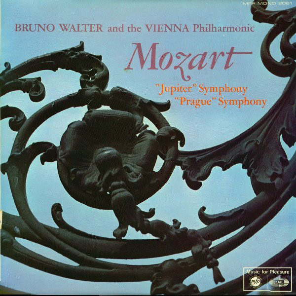 Wolfgang Amadeus Mozart , Bruno Walter And Wiener 'Prague' And 'Jupiter' Symphonies