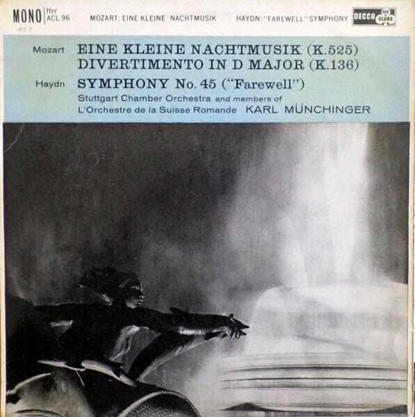 """#<Artist:0x00007fd900ad4928> - Eine Kleine Nachtmusic / """"Farewell"""" Symphony"""