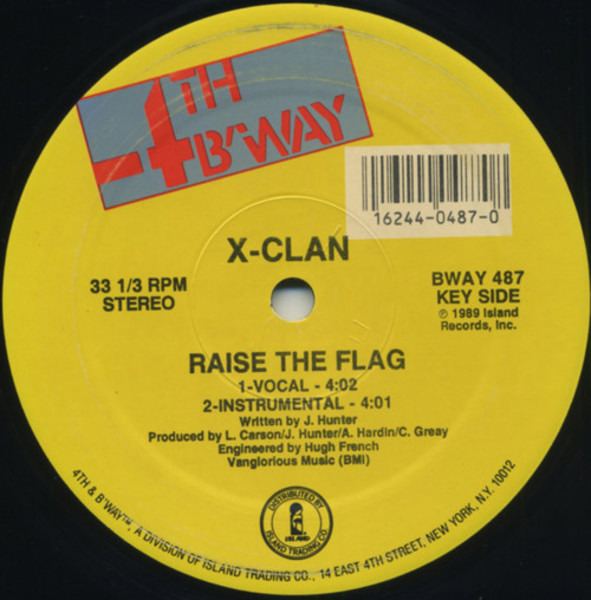 #<Artist:0x00007fd8e4395a98> - Heed The Word Of The Brother / Raise The Flag