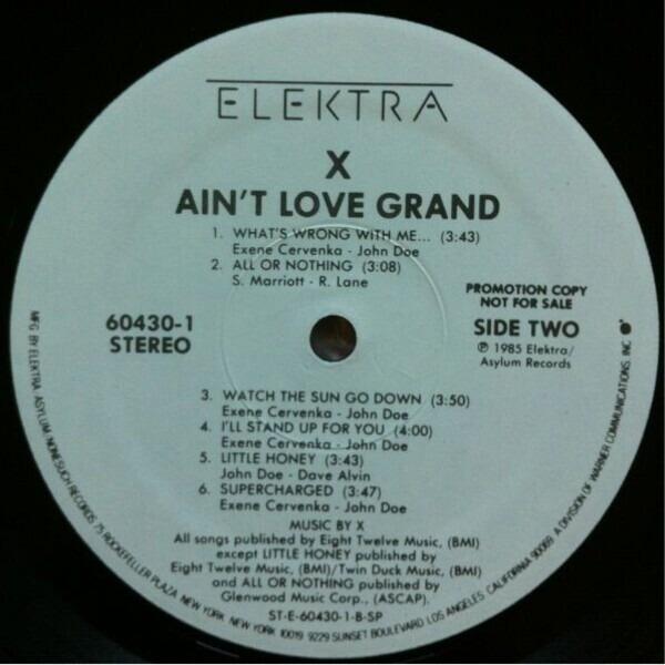 X Ain't Love Grand