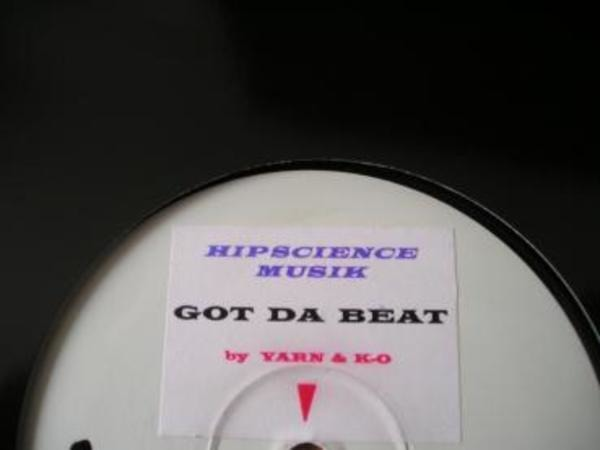 YARN & K-O - Got Da Beat - 12'' 1枚