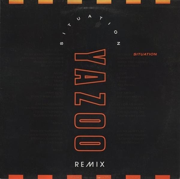 YAZOO - Situation (Remix) - 12 inch x 1