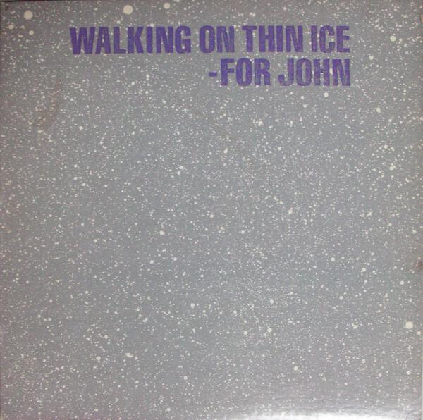 YOKO ONO - Walking On Thin Ice - Maxi x 1