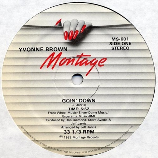 YVONNE BROWN - Goin' Down / King Of The Groove - Maxi x 1