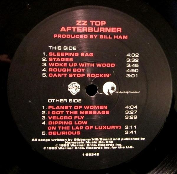 ZZ Top Afterburner